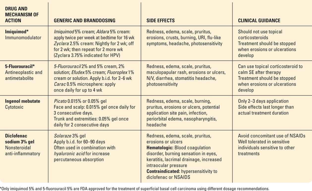 Precancerous And Nonmelanoma Skin Cancers Plastic